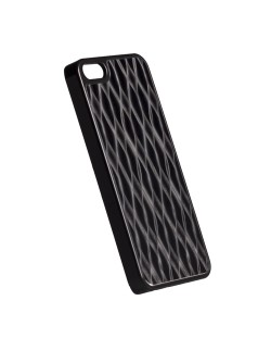 Krusell Bioserie AluCover Wave за iPhone 5 -  черен