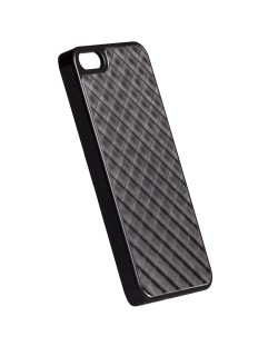 Krusell Bioserie AluCover Grid за iPhone 5 -  черен