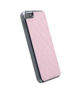 Krusell Avenyn Undercover за iPhone 5 -  розов