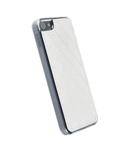 Krusell Avenyn Undercover за iPhone 5 -  бял