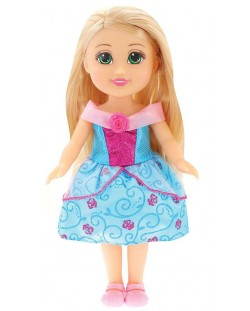 Кукла Funville Sparkle Girlz - Принцеса, 33 cm, със синя рокличка