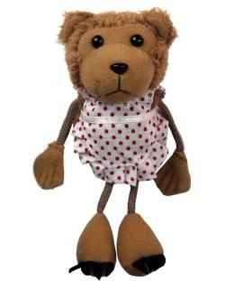 Кукла за куклен театър за пръст - Мама мечка, 15cm