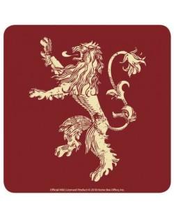 Подложки за чаши Half Moon Bay - Game of Thrones: Lannister, 6 броя