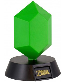 Мини лампа Paladone Nintendo The Legend of Zelda - Green Rupee, 10 cm