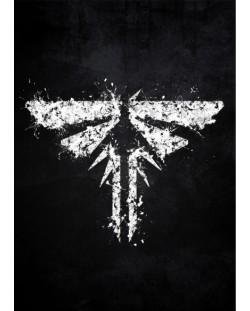 Метален постер Displate - The Last of us Firefly