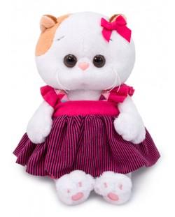 Плюшена играчка Budi Basa - Коте Ли-Ли бебе, в сукманче, 20 cm