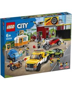 Конструктор Lego City Nitro Wheels - Сервиз за тунинг (60258)