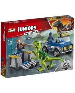 Конструктор Lego Juniors - Спасителен камион за Раптор
