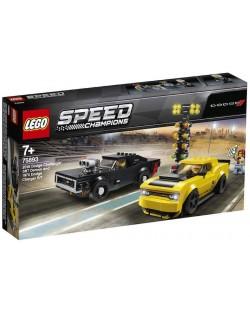 Конструктор Lego Speed Champions - 2018 Dodge Challenger SRT Demon и 1970 Dodge Charger R/T (75893)