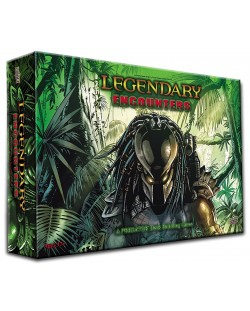 Настолна игра Legendary Encounters - A Predator Deck Building Game