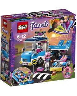 Конструктор Lego Friends - Камион за обслужване (41348)