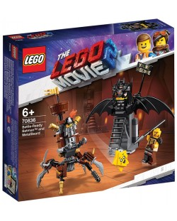 Конструктор Lego Movie 2 - Батман, готов за битка, и Железният (70836)