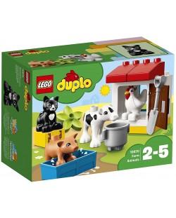 Конструктор Lego Duplo - Животни във ферма (10870)