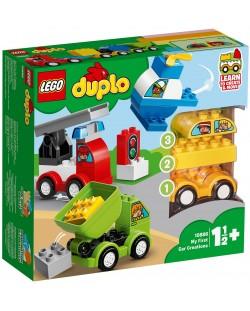 Конструктор Lego Duplo - Моите първи автомобилни творения (10886)