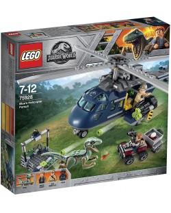 Конструктор Lego Jurassic World - Преследване с хеликоптер (75928)