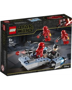 Конструктор Lego Star Wars - Боен пакет Sith Troopers (75266)