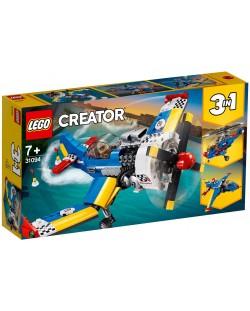 Конструктор 3 в 1 Lego Creator - Състезателен самолет (31094)