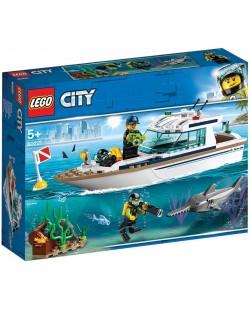 Конструктор Lego City - Яхта за гмуркане (60221)