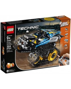 Конструктор Lego Technic - Каскадьорска кола, с дистанционно управление (42095)