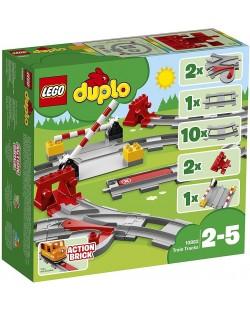 Конструктор Lego Duplo - Релси за влак (10882)