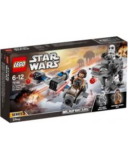 Конструктор Lego Star Wars - Ski Speeder™ vs. First Order Walker™ Microfighter (75195)