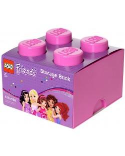 Кутия за съхранение Lego Friends - Розова