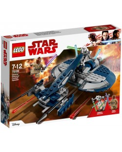 Конструктор Lego Star Wars - Бойният скутер на General Grievous (75199)
