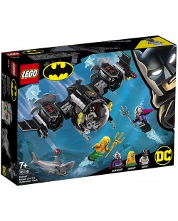 Конструктор Lego DC Super Heroes - Batman Batsub and the Underwater Clash (76116)