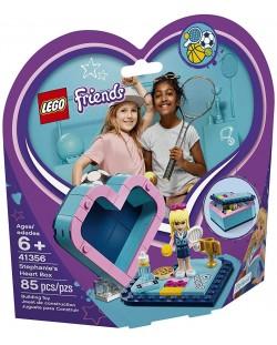 Конструктор Lego Friends - Кутията с форма на сърце на Stephanie (41356)