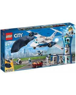 Конструктор Lego City - Полиция в небето, въздушна база (60210)