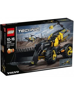 Конструктор Lego Technic - Volvo концепция, колесен товарач (42081)