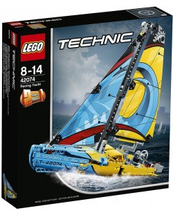 Конструктор Lego Technic - Състезателна яхта (42074)