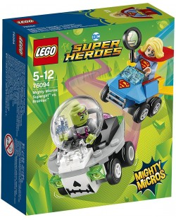 Конструктор Lego Super Heroes - Mighty Micros: Supergirl™ vs. Brainiac™ (76094)