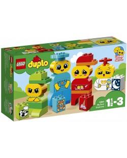 Конструктор Lego Duplo - Моите първи емоции (10861)