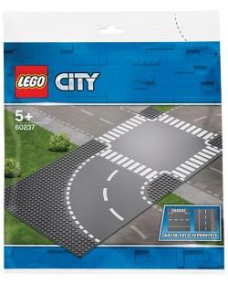 Конструктор Lego City - Завой и кръстопът (60237)