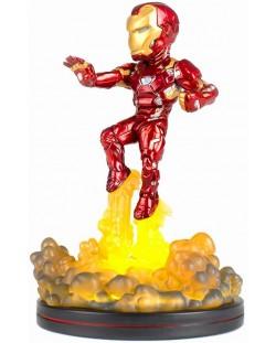 Фигура Q-Fig: Marvel Comics - Light Up Iron Man, 14 cm