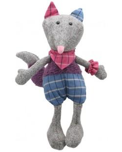 Плюшена играчка The Puppet Company Wilberry Woollies - Лисица, от вълна, 30 cm
