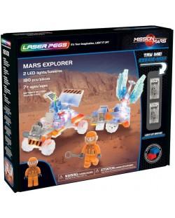 Светещ конструктор Laser Pegs Mission Mars - Експедиция на Марс