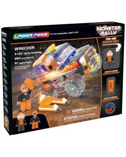 Светещ конструктор Laser Pegs Monster Rally - Саботьор