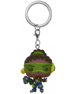 Ключодържател Funko Pocket Pop! Games: Overwatch - Lucio