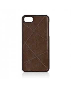 Macally Weave за iPhone 5 -  кафяв