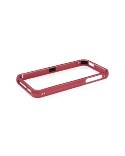 Macally Aluminium Frame за iPhone 5 -  червен