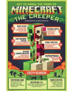 Макси плакат GB Eye Minecraft - Creepy Behaviour
