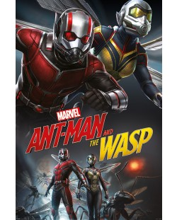 Макси плакат - Ant-Man and The Wasp (Dynamic)
