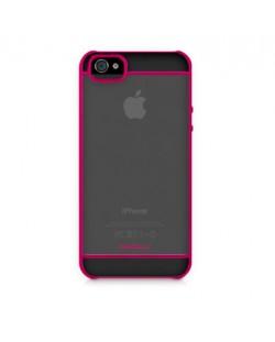 Macally See-Thru Hard Shell Case за iPhone 5 - розов