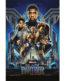 Макси плакат Pyramid - Black Panther (One Sheet)