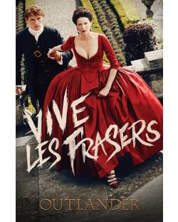 Макси плакат Pyramid - Outlander (Vive Les Frasers)