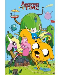 Макси плакат - Adventure Time (House)