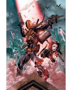 Макси плакат Pyramid - DC Comics (Deathstroke & Harley Quinn)