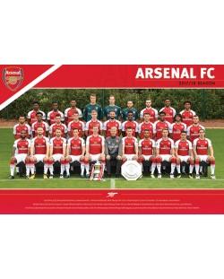 Макси плакат Pyramid - Arsenal FC (Team 17/18)